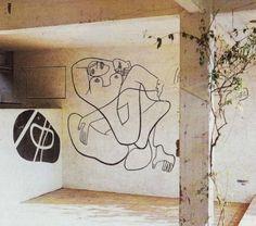 Mural by Le Corbusier