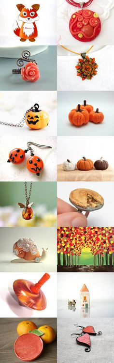 Orange day :) by Judit on Etsy--Pinned with TreasuryPin.com