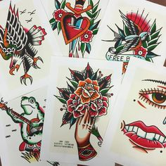 Ver esta foto do Instagram de @traditionaltattooflash • 1,115 curtidas