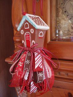 Decorative Christmas Tassel or Ornament by EnchantedRoseStudio