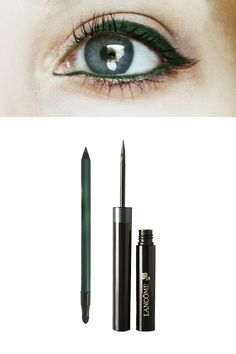 Blue Eyes = Emerald Liner  - MarieClaire.com