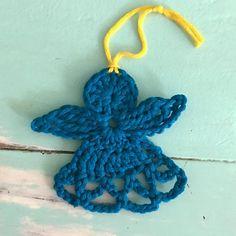 689 mentions J'aime, 11 commentaires - @attysloveforcrochet sur Instagram: «Blue angel  You can find the pattern on my blog. #crochet #ganchillo #haken #häkeln #angel…»