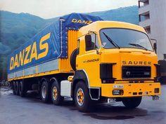 ○ Saurer D330 6x2 Benne, Old Lorries, Good Looking Cars, Old Wagons, Semi Trailer, Big Rig Trucks, Busses, Commercial Vehicle, Vintage Trucks