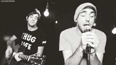 Alex Gaskarth and Jack Barakat from All Time Low. c: