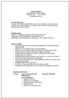 New Zealand. Resume Templates ...