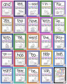 Interactive Sight Word Readers, so many to choose from and only $1 each!