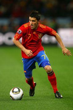 Spain football stars | David Villa