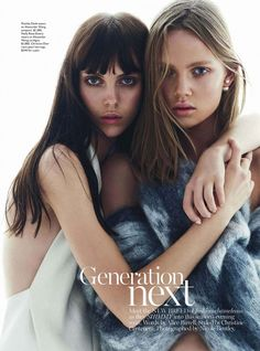 Vogue Australia - Generation Next by Nicole Bentley