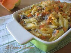 Pasta Zucca e Funghi | La Cucina di LoredanaLa Cucina di Loredana