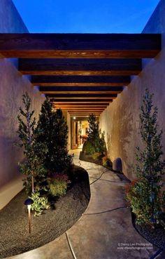 65 Ideas For Exterior Front Door Colors Garage Exterior Door Colors, Exterior Doors, Exterior Design, Landscape Design, Garden Design, House Design, Outdoor Walkway, Contemporary Doors, Interior Garden