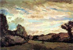 Landscape with Dunes - Vincent van Gogh, 1883