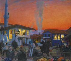 Bachisaray (Boris Mikhailovich Kustodiev - ) Classic Art, Art Cart, Fine Art, Russian Art, Art Masters, Painting, Fine Art Auctions, Art, Art Historian