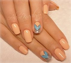 Chic nails, Cool nails, Easy nail designs, Elegant nails, Glitter nails, Graceful nails, Light nails, Luxurious nails