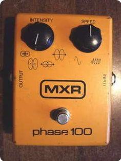 1979 MXR PHASE 100 Block Logo.