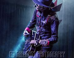 The Spine of Steam Powered Giraffe. Taken at AniMinneapolis. You can find this and many more official SPG prints in the GeekShot store.