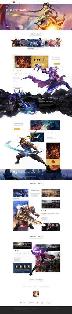 王者荣耀国外专题页设计|网页|游戏/娱乐|小佛v5 - 原创作品 - 站酷 (ZCOOL)
