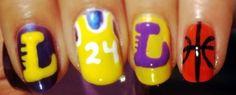 Los Angeles Lakers Nails
