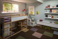 Ikea Hack Kids Design Ideas, Pictures, Remodel and Decor Ikea Kura Hack, Ikea Hack Kids, Ikea Kura Bed, Murphy Beds, Girls Bedroom, Inside A House, Innovation Design, Home Remodeling, Bedroom Remodeling