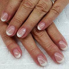 #fingernägel #gelnägel #naturnägel #frenchnails #weiß #NAILDESIGNS # - carmenirmscher French Nails, Gel French Manicure, Lace Nails, Sparkle Nails, Pink Nails, Violet Pastel, Nail Effects, Cosmetic Shop, Wedding Nails Design