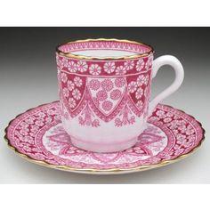 Antique Ceramics Chirnau House-Copeland (Sports) | Yahoo! Shopping Porcelain Insulator, Porcelain Ceramics, China Porcelain, Tea Cup Saucer, Tea Cups, Chocolates, Pink Cups, Pots, Tea Service