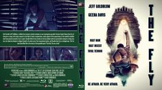 The Fly Blu-ray Custom Cover Geena Davis, Half Man, Cover Design, Artwork, Movie Posters, Work Of Art, Film Poster, Book Cover Design, Cover Art