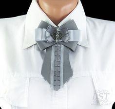 Броши ручной работы. Ярмарка Мастеров - ручная работа. Купить Брошь галстук…