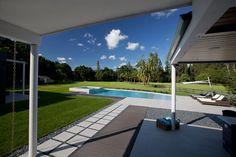 Terrace, Pool, Modern Retreat in Davie, Florida