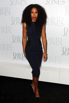 Kelly Rowland Cocktail Dress - Dresses & Skirts Lookbook - StyleBistro