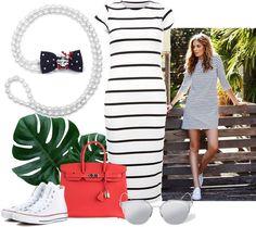 Námořnická inspirace. Celine Luggage, Luggage Bags, Outfits, Fashion, Moda, Suits, Fashion Styles, Fashion Illustrations, Kleding