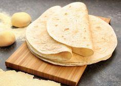 Tortilla Homemade Recipe Easy Video 4 Ingredients
