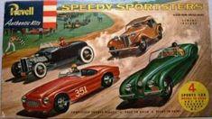 Speedy Sportsters Revell Kit # G-79 298
