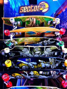 Sector9 Longboards ya llegaron a Mall Sport.