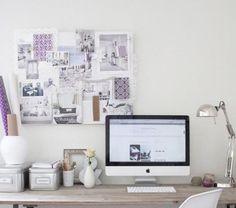 cute workspace... plus it has a mac :-)