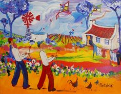 Portchie South African Artists, Paintings, Nice, Pretty, Paint, Painting Art, Painting, Drawings, Pictures