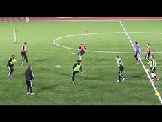Another good passing drill focus on movement off the ball. Progressions - Add defender to add pressure - Use smaller ball and increase speed of play Let us k. Soccer Training Drills, Soccer Drills For Kids, Soccer Workouts, Football Drills, Soccer Practice, Soccer Skills, Soccer Coaching, Kids Soccer, Soccer Warm Ups