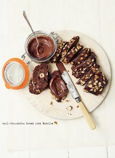 chOccOlatine bread with nutella