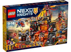 Buy LEGO Nexo Knights 70323 Jestro's Volcano Lair from our Construction Toys range at John Lewis & Partners. Lego Sets, Legos, Fire Tornado, Lego Knights, Buy Lego, Lego Group, Shops, Creative Play, Marvel