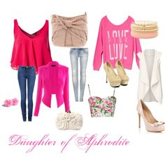 """Daughter of Aphrodite"" by solveiyang on Polyvore"