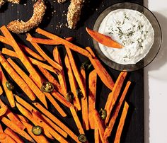 Easy Super Bowl Recipes: Spicy Jalapeno Sweet Potato Fries! Pick this superfood on Super Bowl Sunday and reap the bennies: Sweet potatoes help you slim and energize. And the jalapeño adds a nice little kick.
