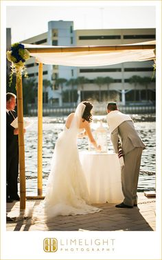 #Wedding #Day #Westin #HarbourIsland #Tampa #FL #Ideas #Limelight #Photography #beachwedding #sandceremony #bride #groom