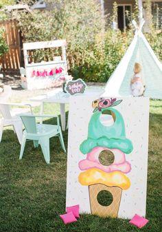Ice Cream Theme Birthday Party — HRJ Events & Vintage Rentals