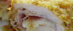 Kuřecí rolky Cordon Bleu z trouby