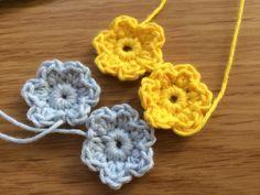 Midsommarkrans – PysselNetan Mode Crochet, Knit Crochet, Yarn Crafts, Diy Crafts, Beautiful Crochet, Crochet Flowers, Tatting, Elsa, Crochet Earrings