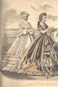 ENTIRE MAGAZINE. Godey's Lady's Book July 1864