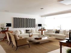 Apartamento Vila Nova Conceição IV 350 m² / Toninho Noronha Arquitetura #living #decor