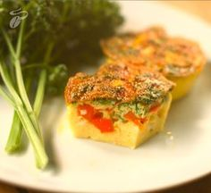 Zdravý trik: Slané snídaňové muffiny Bruschetta, Healthy Recipes, Healthy Food, Ale, Cooking, Ethnic Recipes, Kitchen, Red Peppers, Healthy Foods