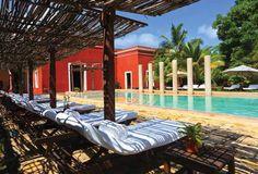 La Hacienda Temozón, se sitúa en el Km 182 Carretera Mérida-Uxmal.  #foodandtravelmx #destinos