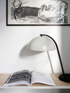 Beautiful, comfy and atmospheric apartment in Goteborg - via mur-beton.com