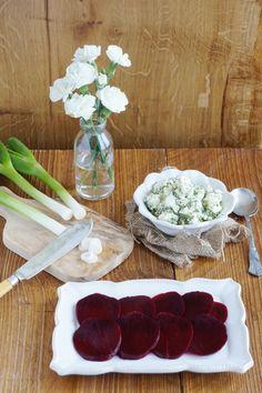 Beetroot & Marinated Feta Salad