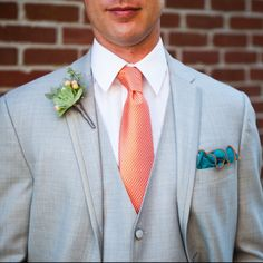 eb76144cc80bd Teal Silk Pocket Square with Orange Edge Border Wedding Hankerchief Custom  Pocket Round Groomsman Hankie Pocket Handkerchief for Man